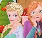 Frozen Sisters Christmas Day