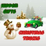 Christmas Trucks Hidden Gifts