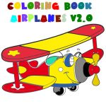 Coloring Book Airplane V 2.0