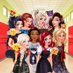 Villains vs Princesses School Fashion